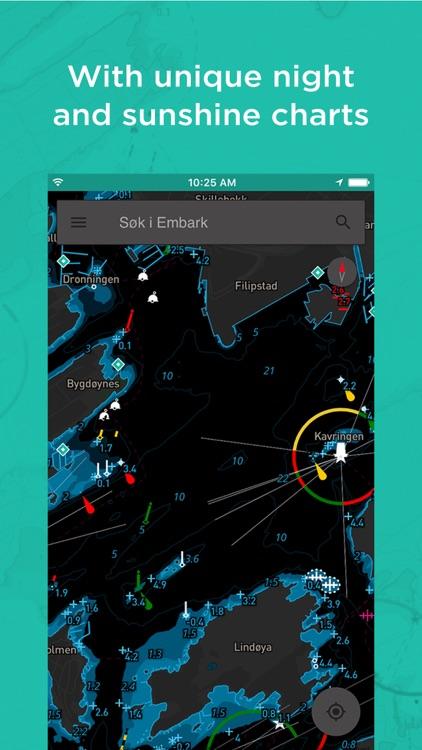 Embark:Offline Nautical charts screenshot-3
