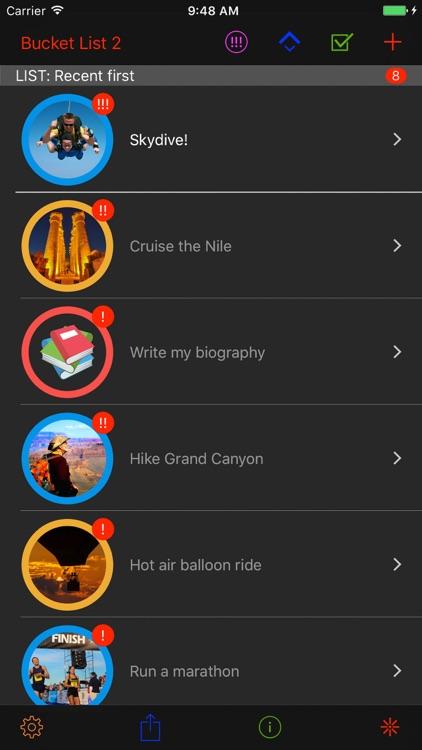 Miwaresoft Bucket List 3 screenshot-0