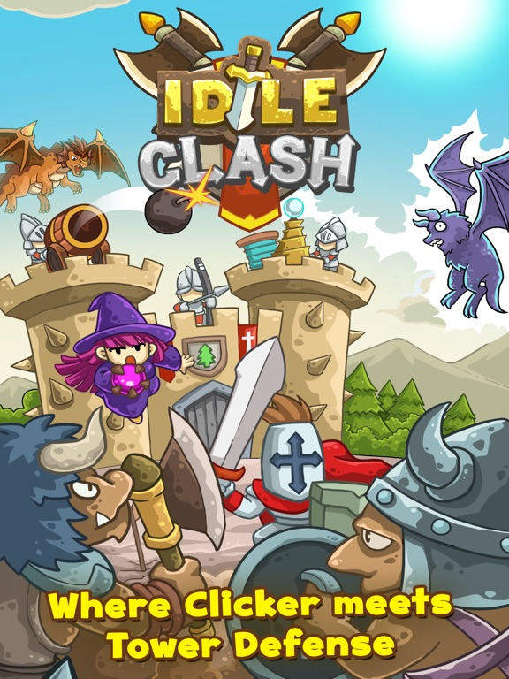 Screenshot #1 for Idle Clash - Frontier Defender