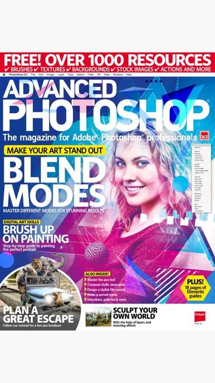 Advanced Photoshop Magazine: Professional guides