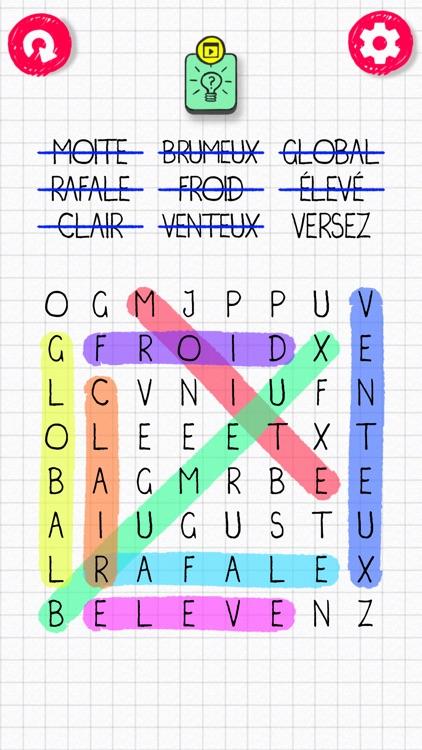 Word Search in English! screenshot-6