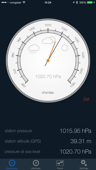 Barometer & Altimeter Pro for Windows