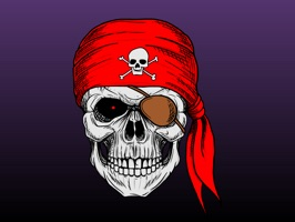 Pirates - Funny Cartoon & Comic Text Chat Stickers