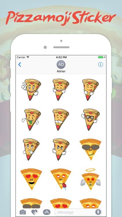 The Pizza Emoji Sticker