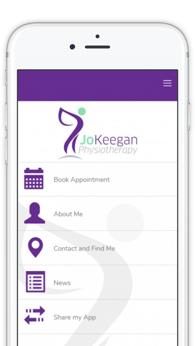 Jo Keegan Physio screenshot one