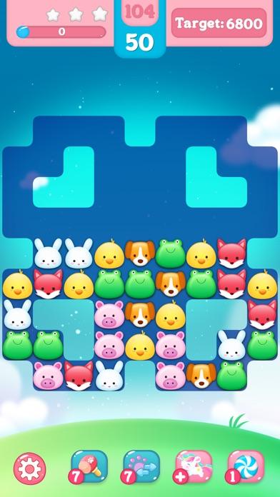 Screenshot 4 Happy Zoo Island-Match 3 Games