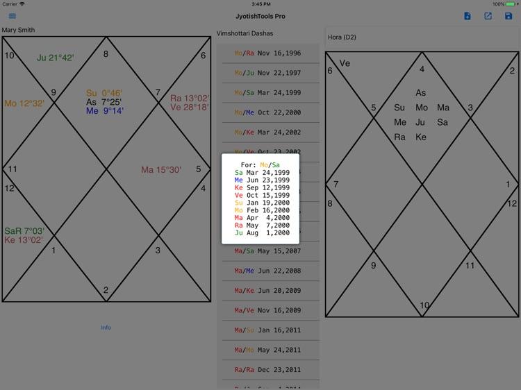 JyotishToolsPro for iPad