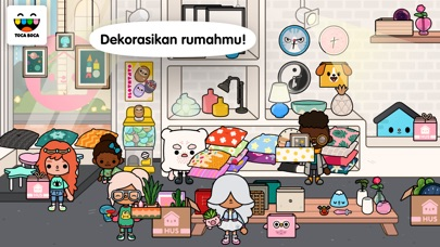 Screenshot for Toca Life: Neighborhood in Indonesia App Store