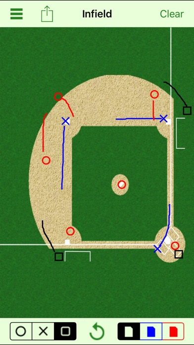 Baseball Strategy Board review screenshots