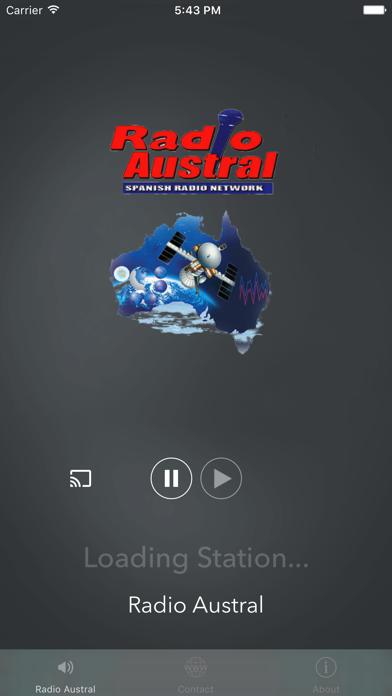 Radio Austral screenshot two