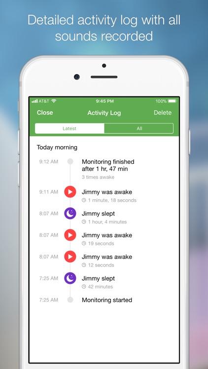 Baby Monitor 3G screenshot-4