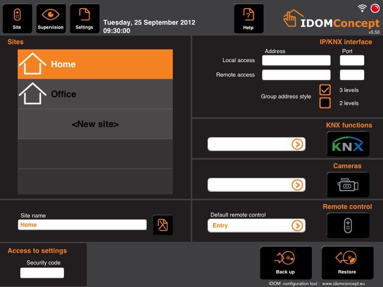 iDom KNX for iPad