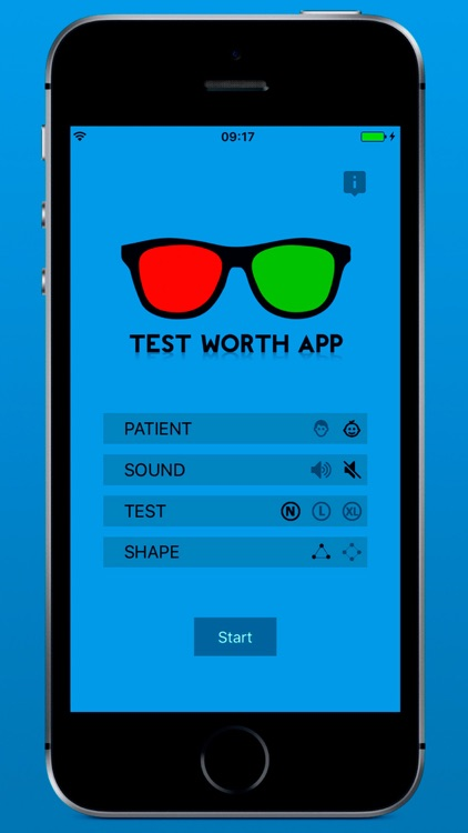 Test Worth App Ofthalmology