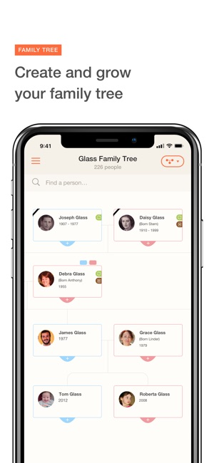 myheritage family tree on the app store