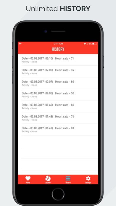 Screenshot #4 for Heart Rate Monitor - Pulse App Tracker