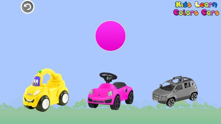 Kids Learn Colors Cars screenshot-4