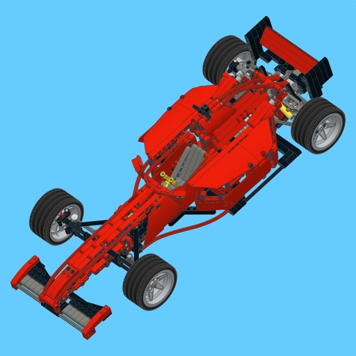 F2000 Racer for LEGO 8070 Set