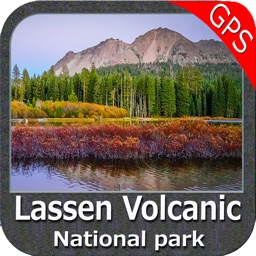 Lassen Volcanic National Park - GPS Map Navigator