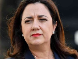 Why not respond to your friends using the super expressive face of Annastacia Palaszczuk