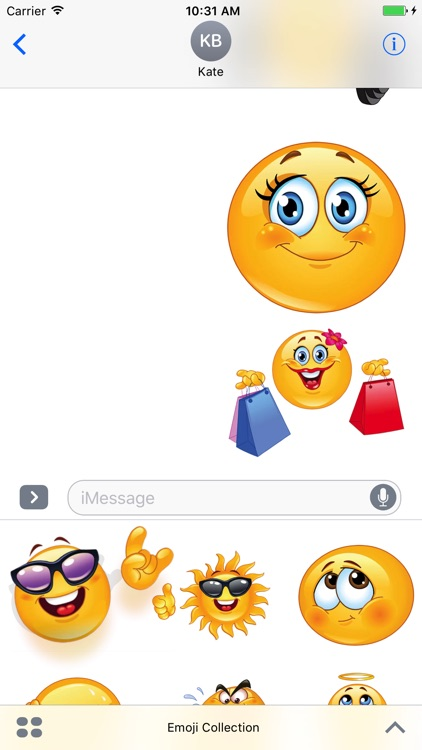Emoji Collection Stickers
