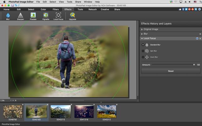 PhotoPad Photo Editor on the Mac App Store