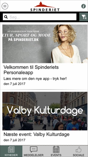 Spinderiet Personaleapp On The App Store