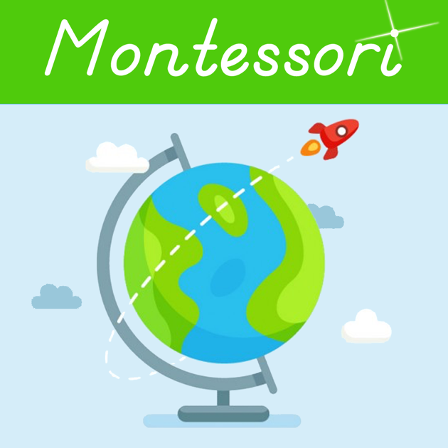 ‎Continents & Countries of the World - A Montessori Geography Bundle with  Puzzle Maps