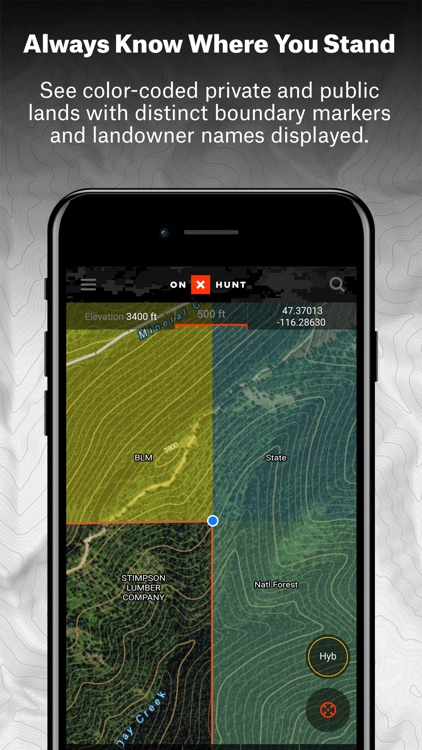 onX Hunt Hunting GPS Maps with Offline US Topo