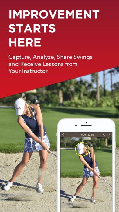 V1 Golf review screenshots