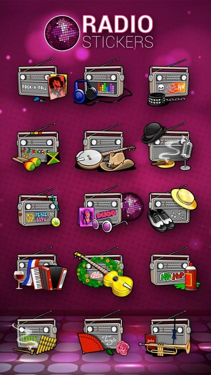 Radio Stickers