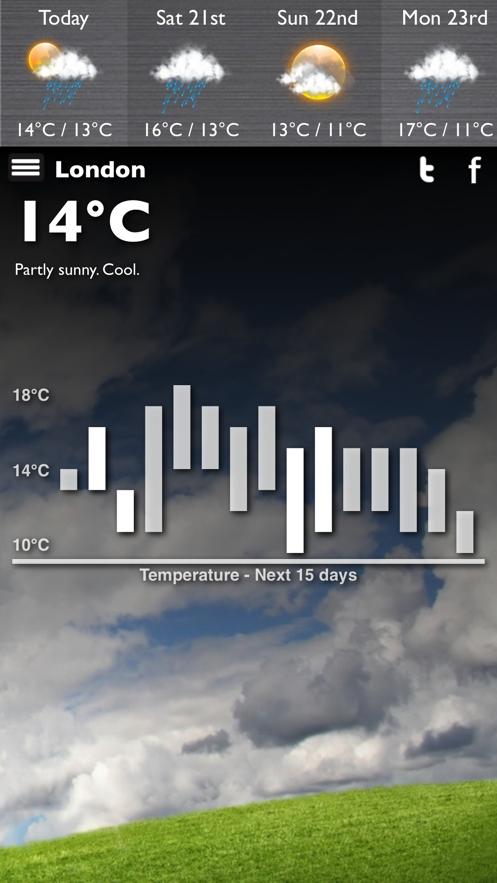 What's The Weather App 截图