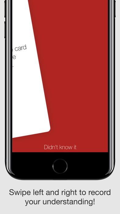 My Flashcards screenshot one