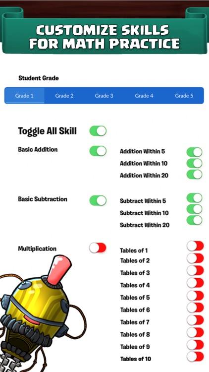 Monster Math. Kids Fun Games for elementary grades screenshot-3