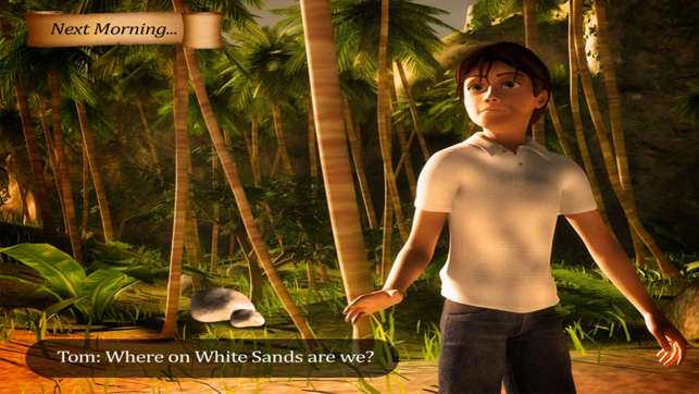 ‎Stranded: Escape White Sands Screenshot