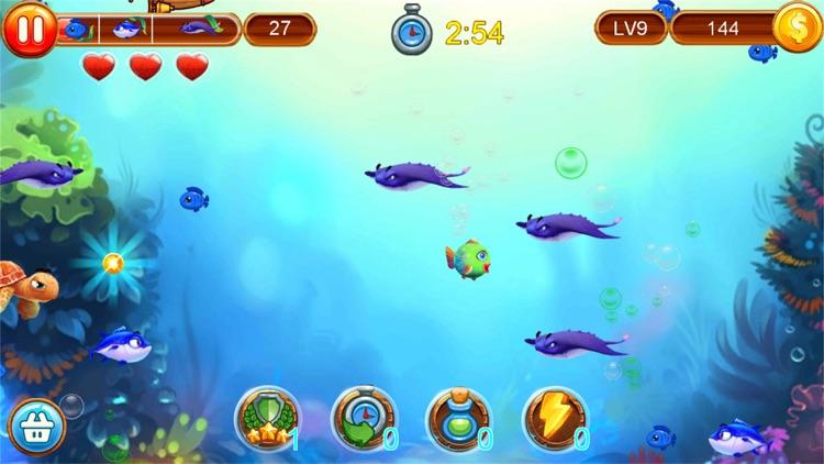 大鱼吃小鱼-深海鲨鱼水族馆游戏