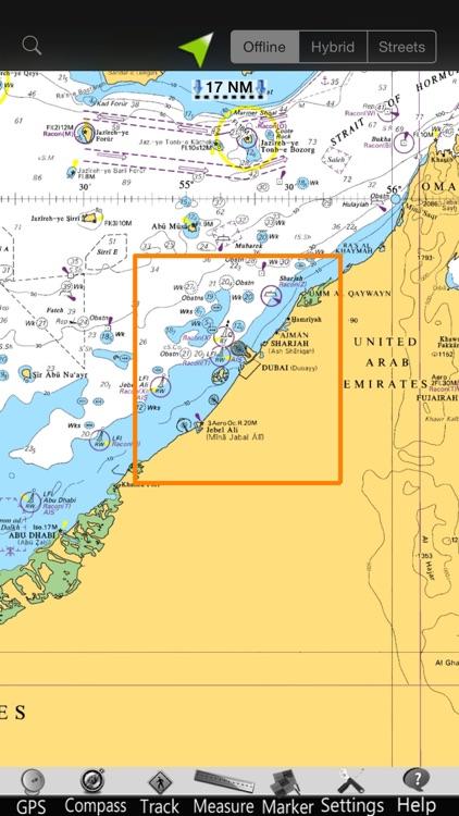 Dubai GPS Nautical Charts screenshot-4