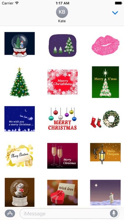 Animated Christmas Sticker Gif
