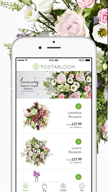 Postabloom Flower Delivery App