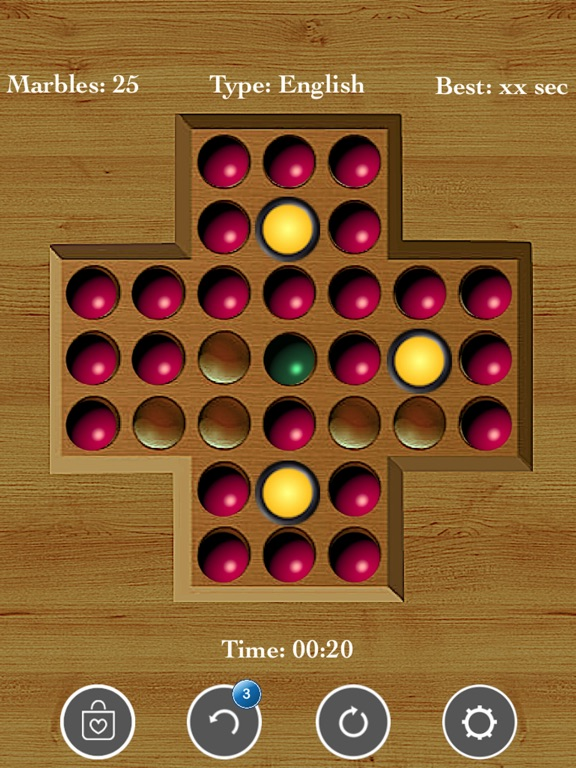!Brainvita Peg Solitaire screenshot 7