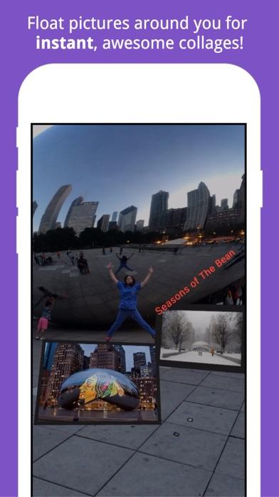 Float Camera – AR Video & Text screenshot one