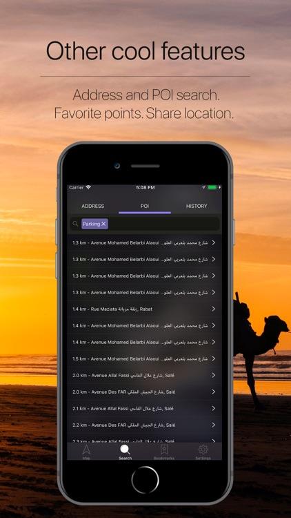 Morocco Offline Navigation screenshot-4