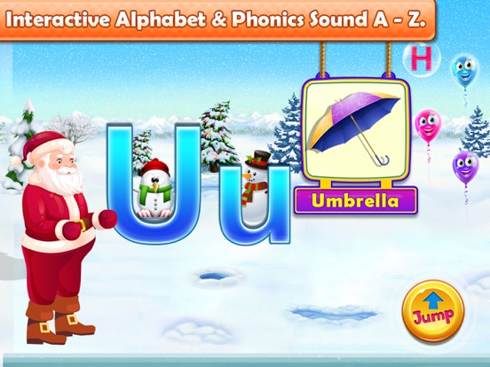 Santa Run - Learning FlashCard screenshot 12