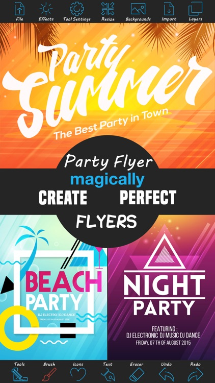 Party Flyer Creator