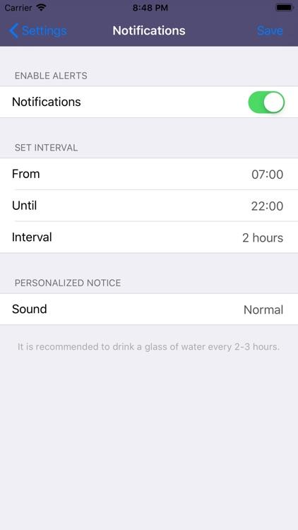 Drink Water - Daily reminder screenshot-9