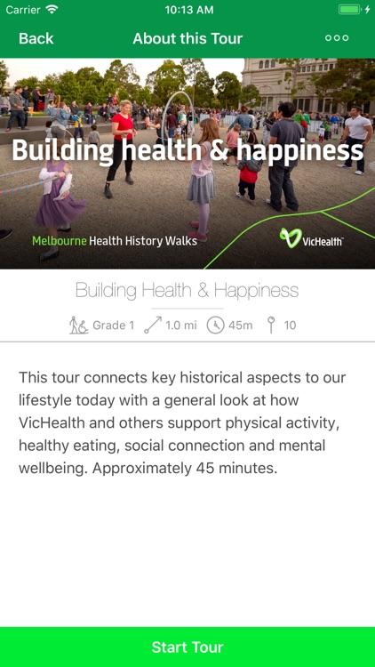 Melbourne Health History Walks