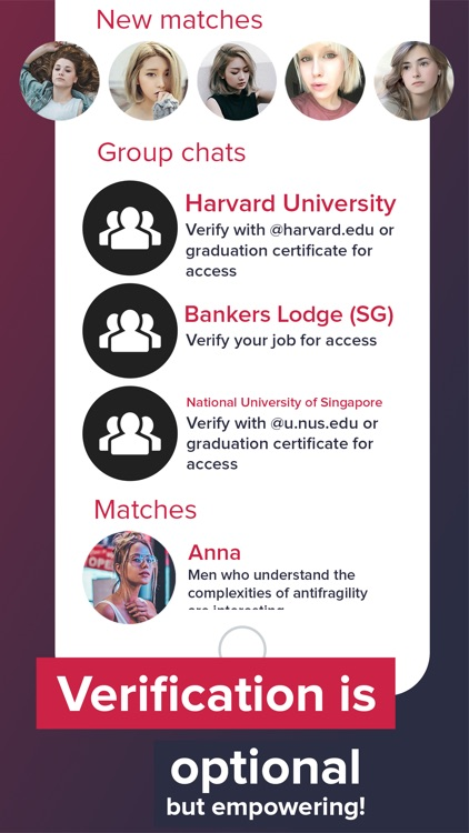 Harvard dating app