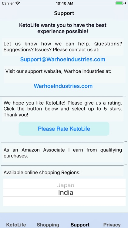 KetoLife Allowable Food List screenshot-7