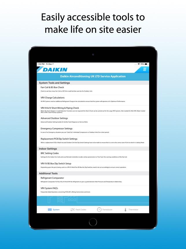 Daikin Service on the App Store