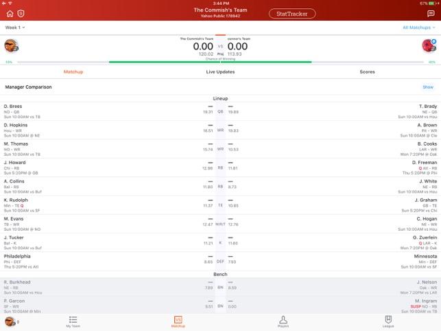 Yahoo Fantasy Football More On The App Store