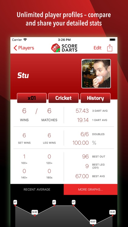 Score Darts Scorer Lite screenshot-1